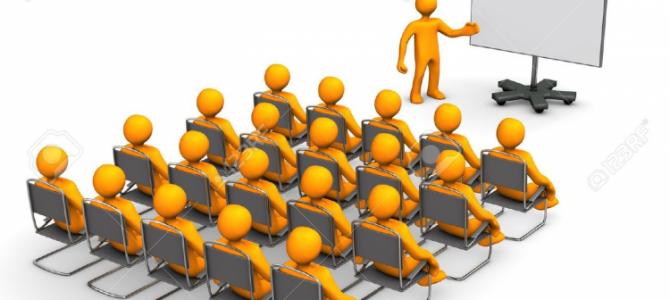 Escuela de  zona: reunión informativa